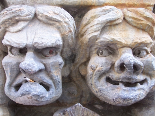 Detail des Pohjola-Hauses